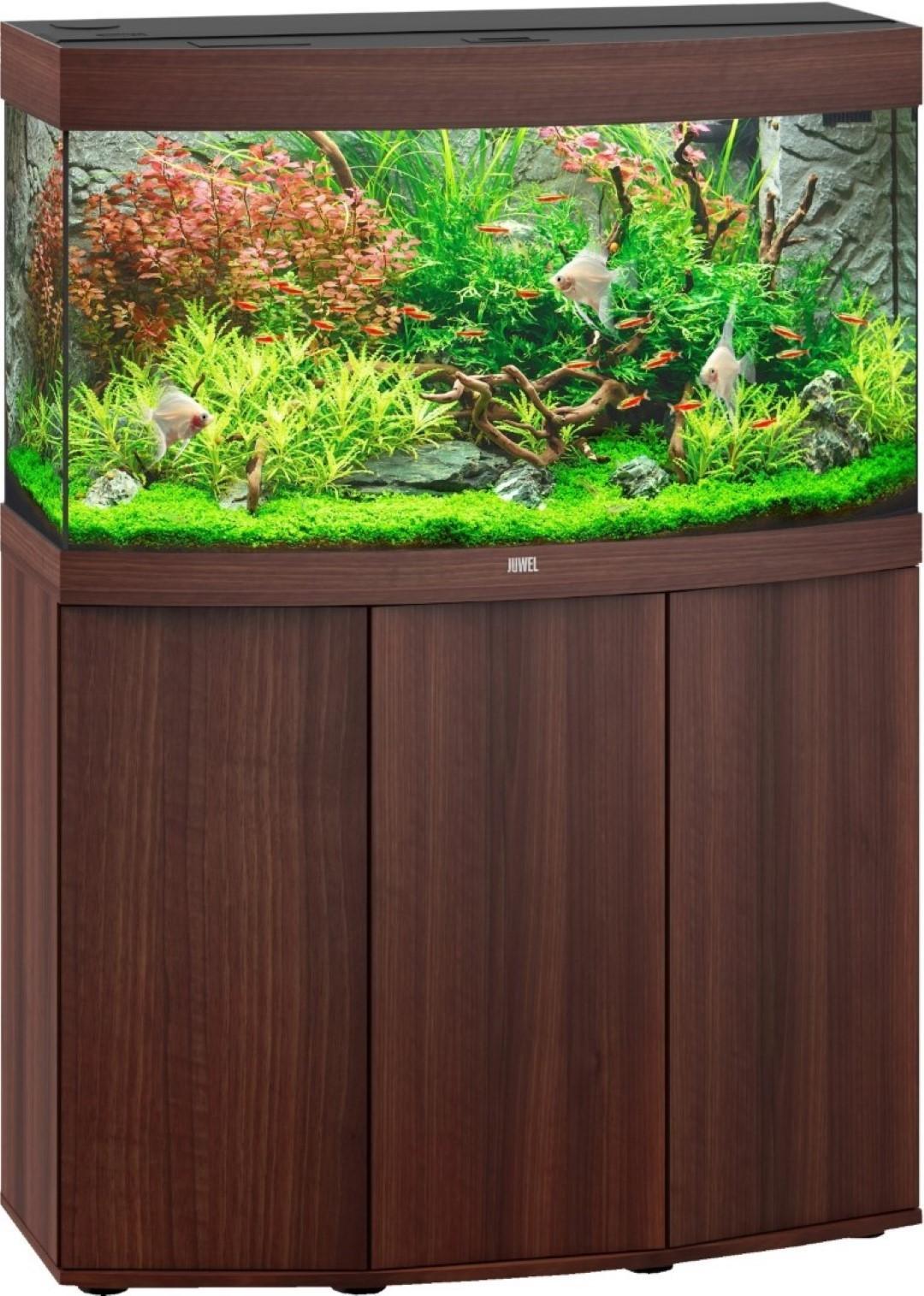Juwel aquarium Vision 180 LED met filter donkerbruin