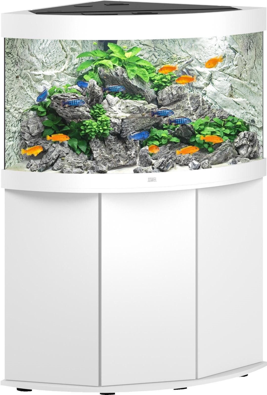 Juwel aquarium Trigon 190 LED met filter wit