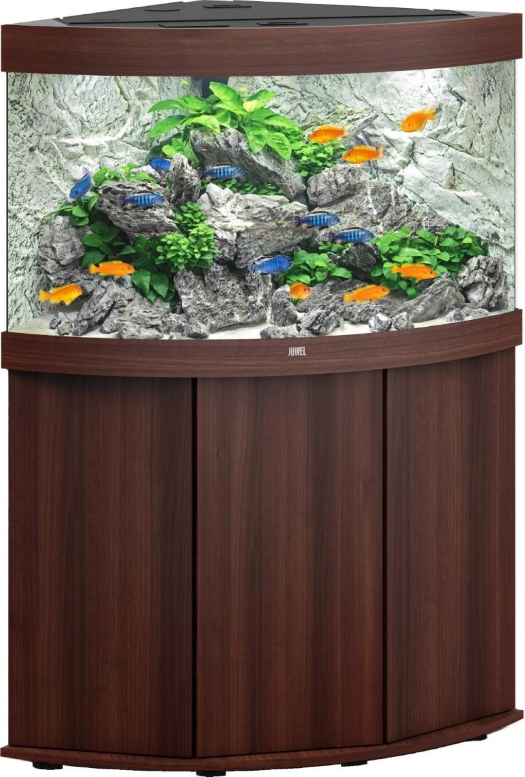 Juwel aquarium Trigon 190 LED met filter donkerbruin