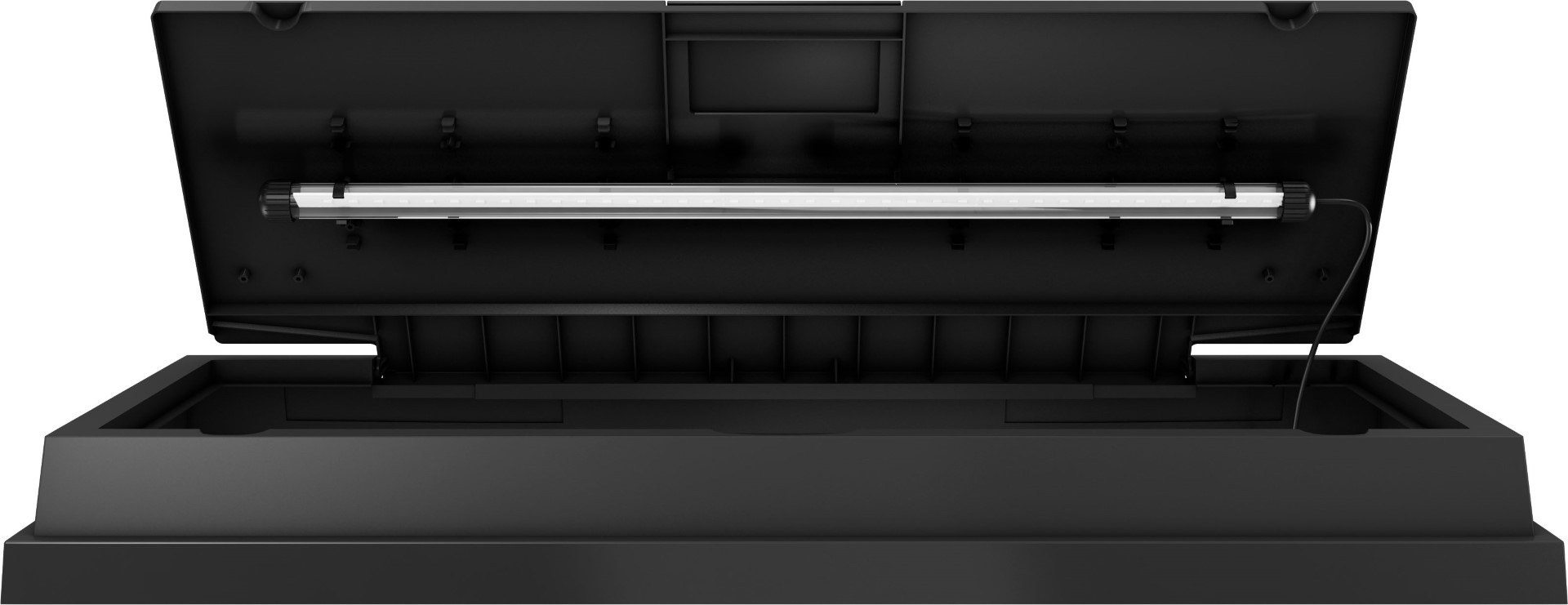 Juwel lichtkap PrimoLux 100x40 cm zwart met 1x23 Watt LED
