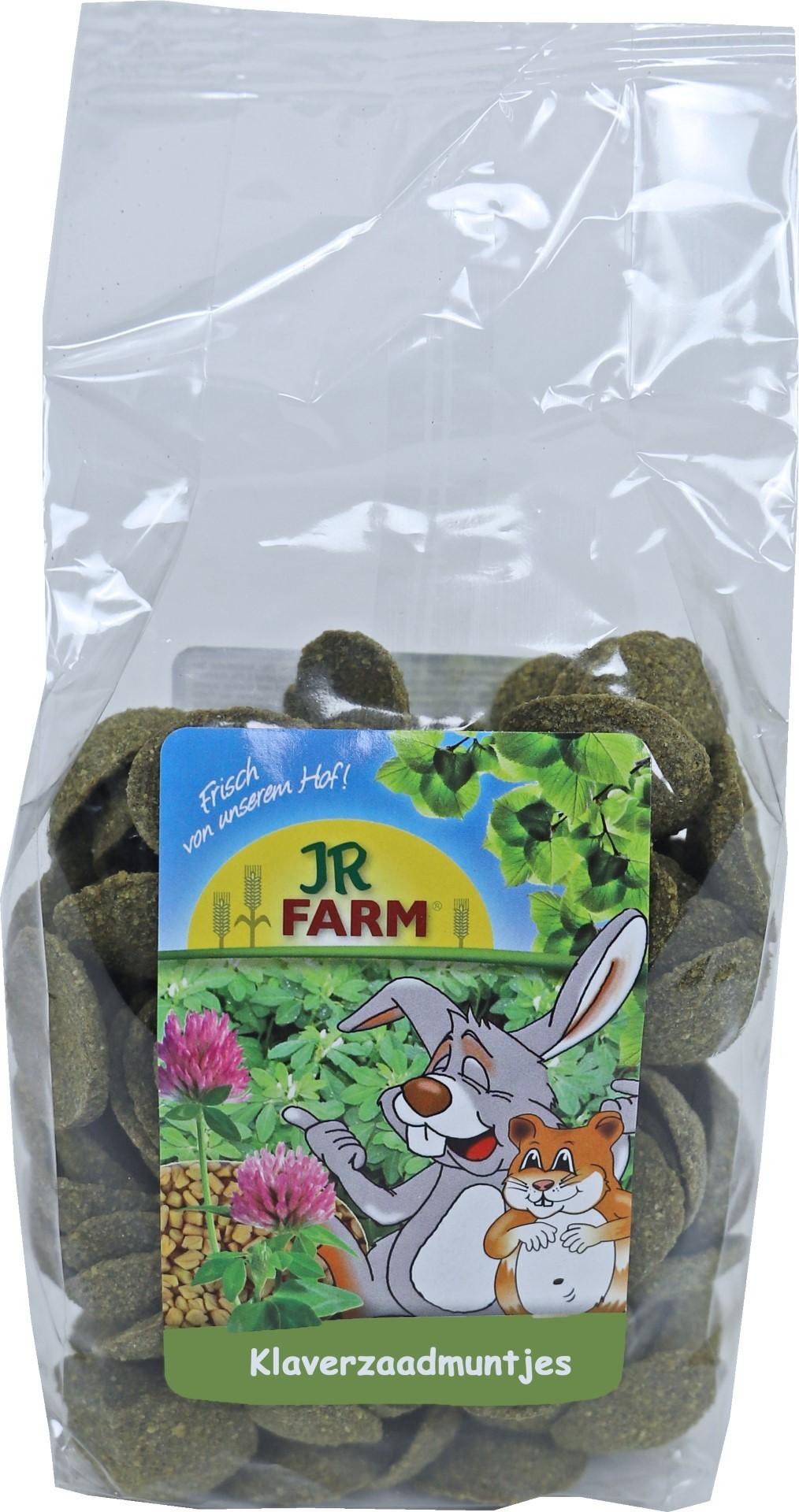 JR Farm knaagdier klaverzaadmuntjes 200 gram 05598