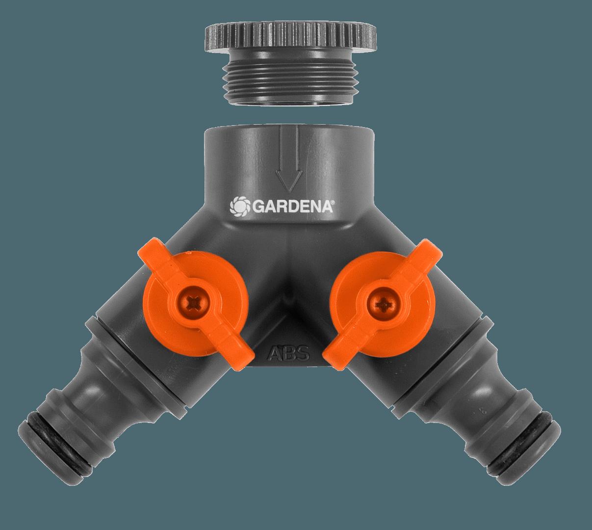 2-weg ventiel 26,5 mm (G 3/4) / 21 mm (G 1/2)