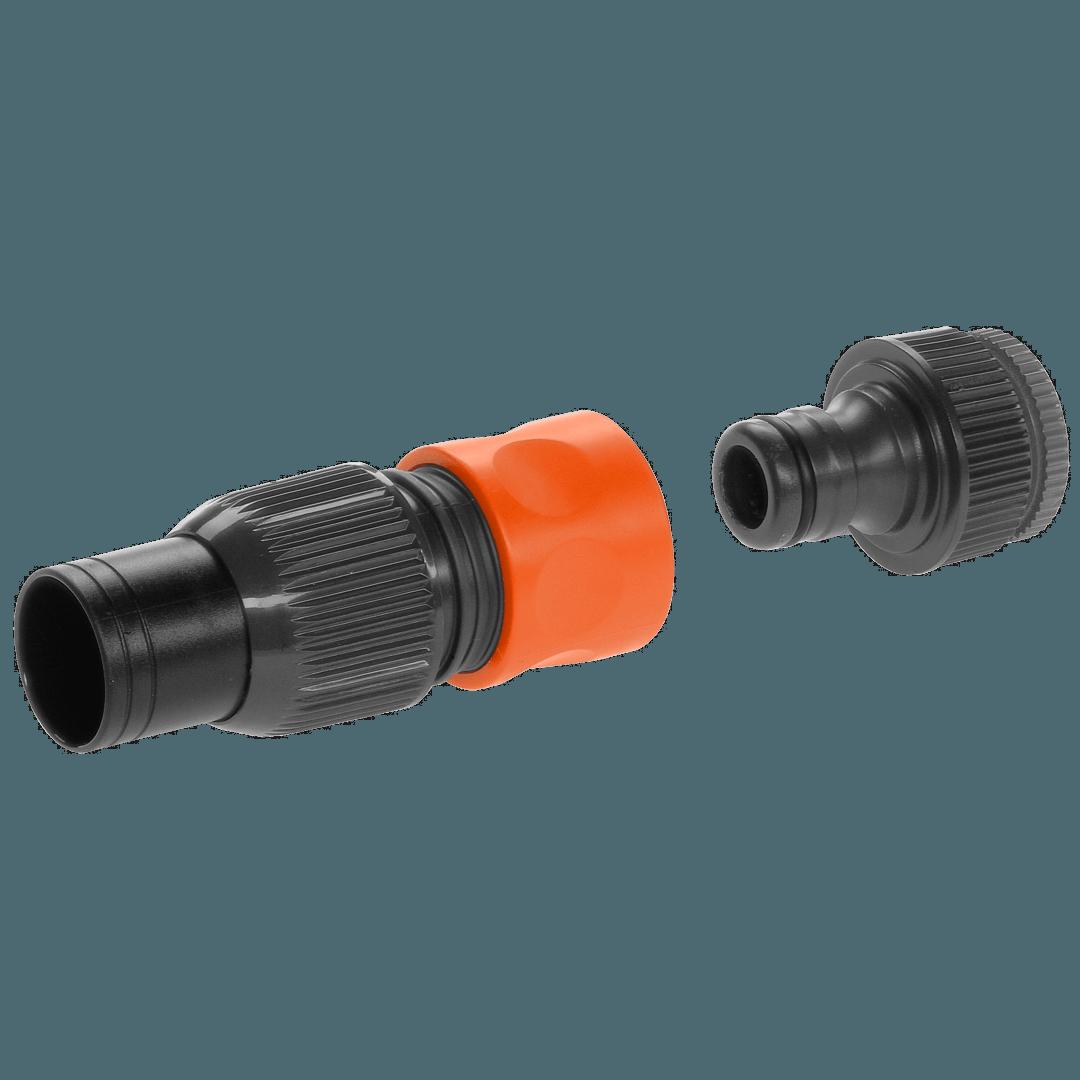 Aansluitset voor pompen met 19 mm (3/4) slang