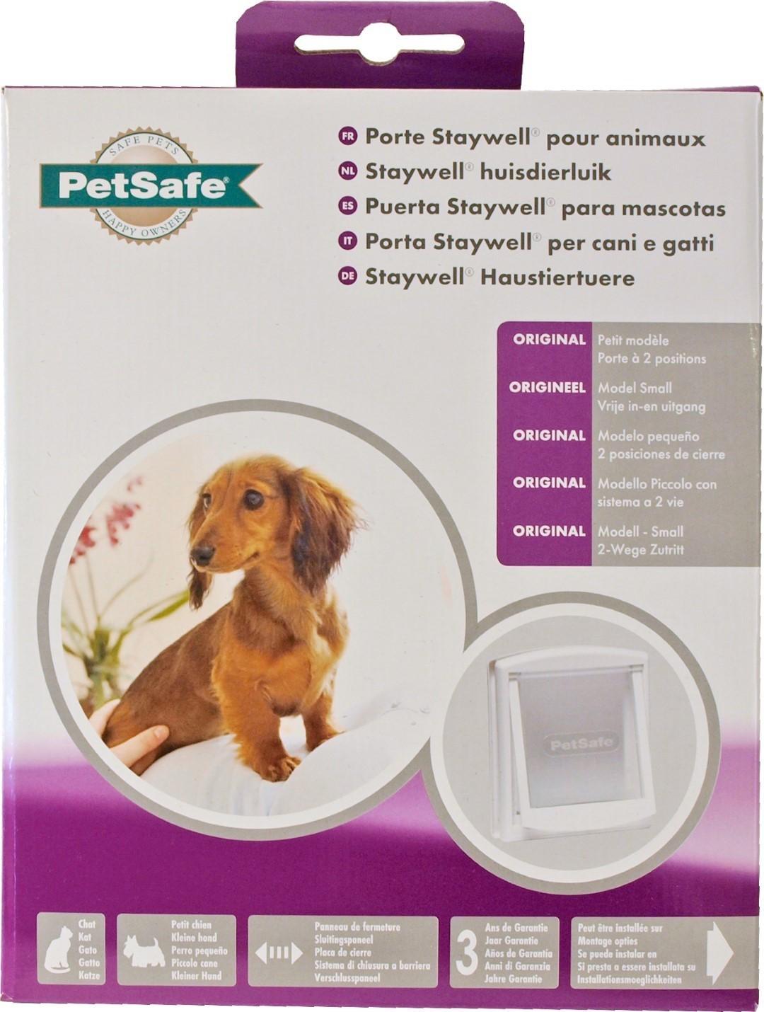 PetSafe kattendeur nr. 715 wit/transparant