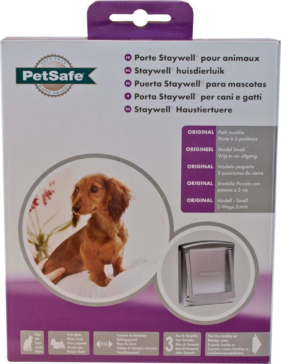 PetSafe kattendeur nr. 737 grijs/transparant