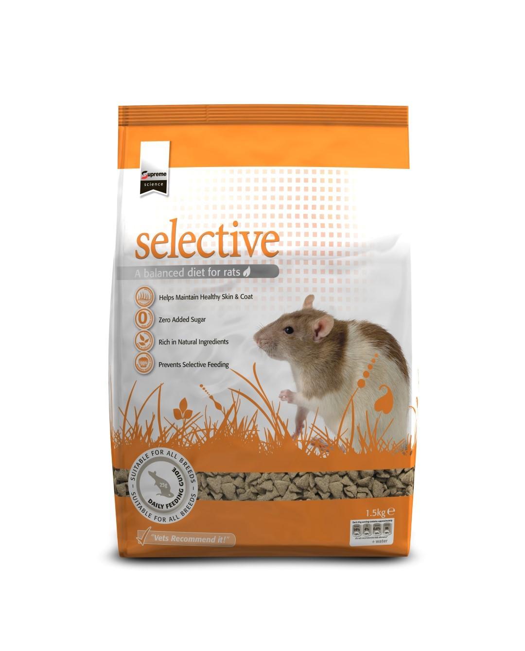 Selective rat 1,5 kg