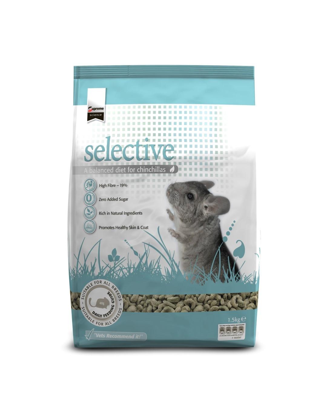 Selective chinchilla 1,5 kg