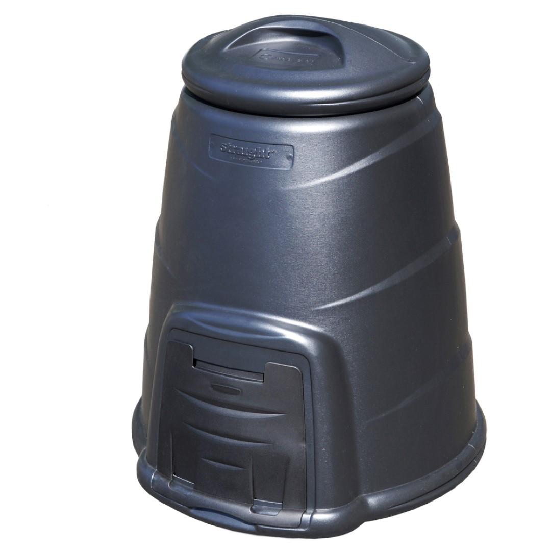 Compostvat 330 ltr zwart