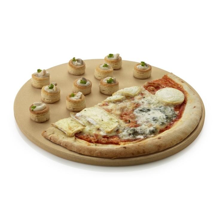 Pizzaplaat voor gasbarbecue