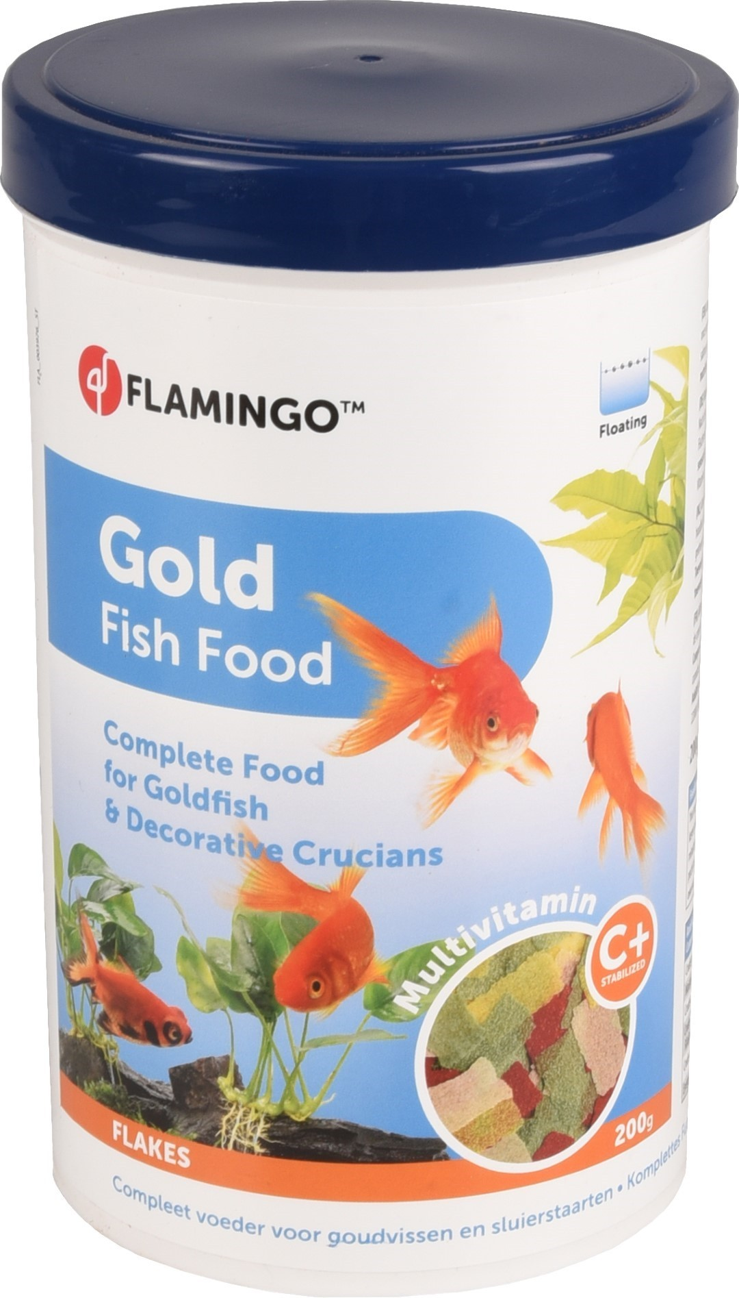 Gold vlokvoer goudvis 1000ml