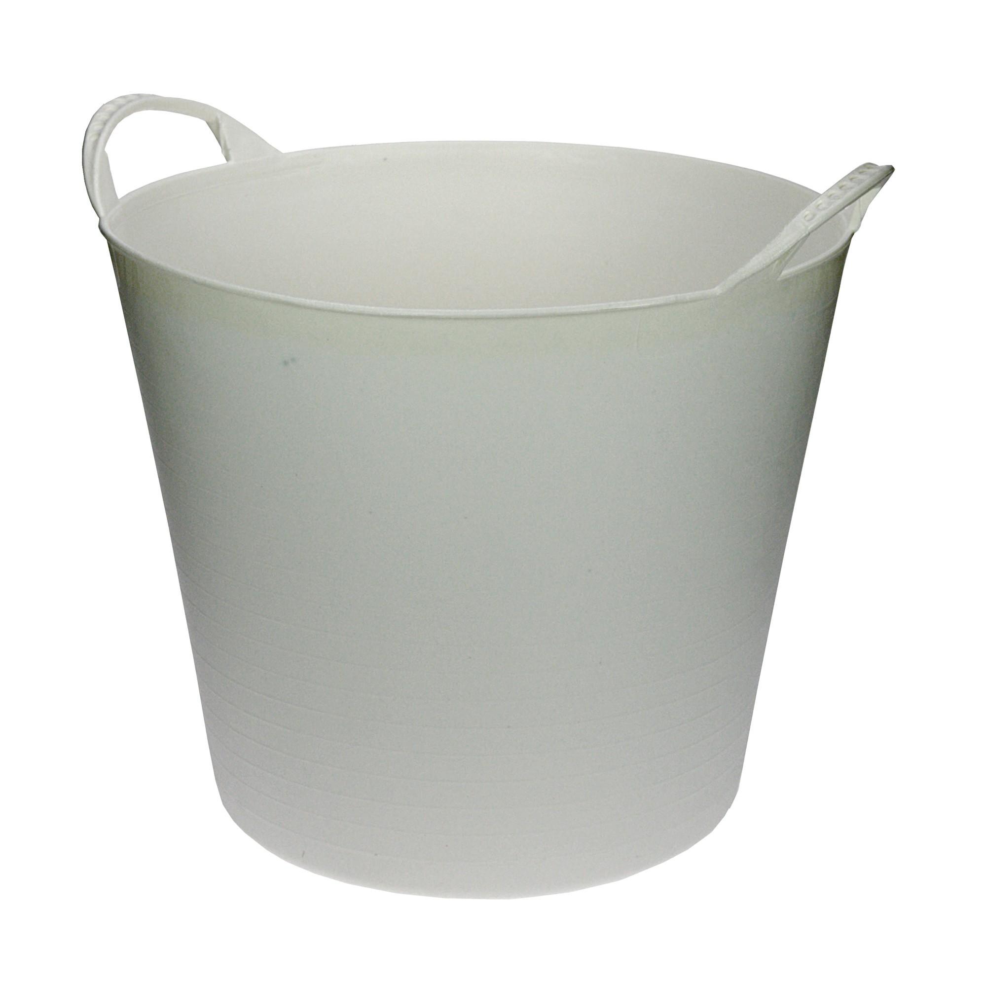 Flexibele Kuip wit 20 liter
