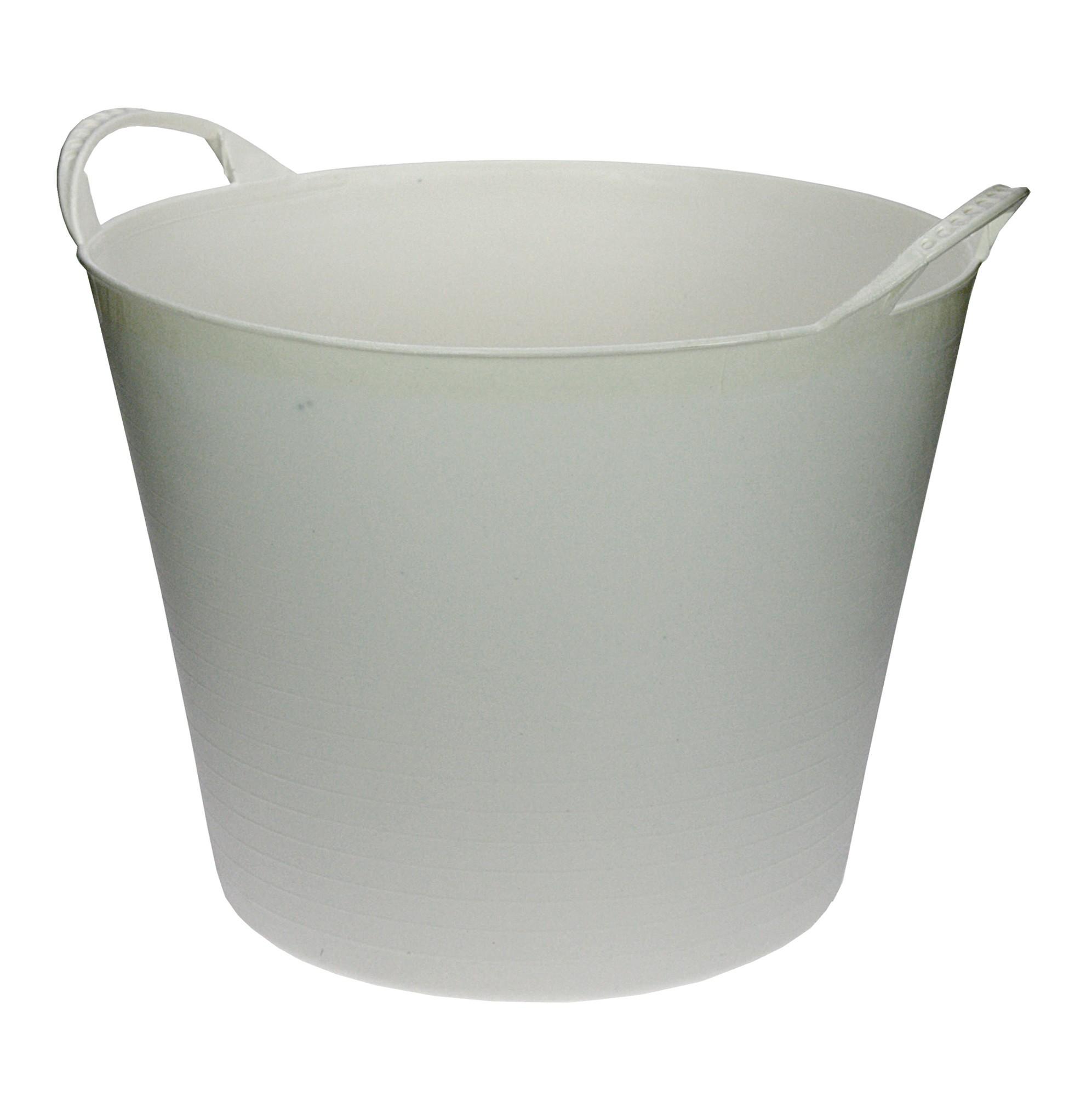 Flexibele Kuip wit 40 liter