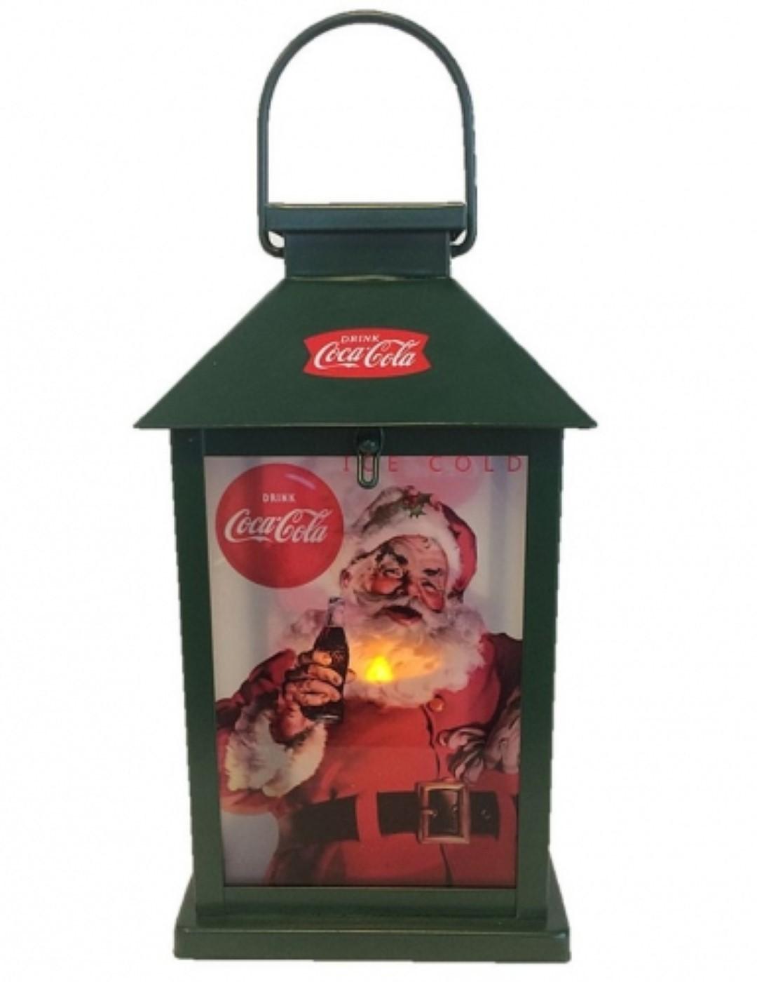 Coca-cola led lantaarn l12b12h26 cm