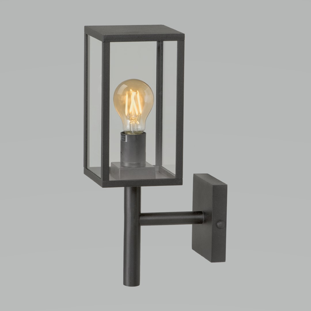 Celata wandlamp zwart