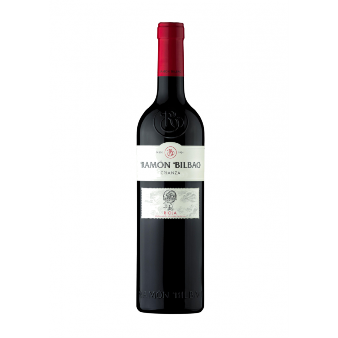 3 stuks! Ramon Bilbao Crianza doc Rioja 2015