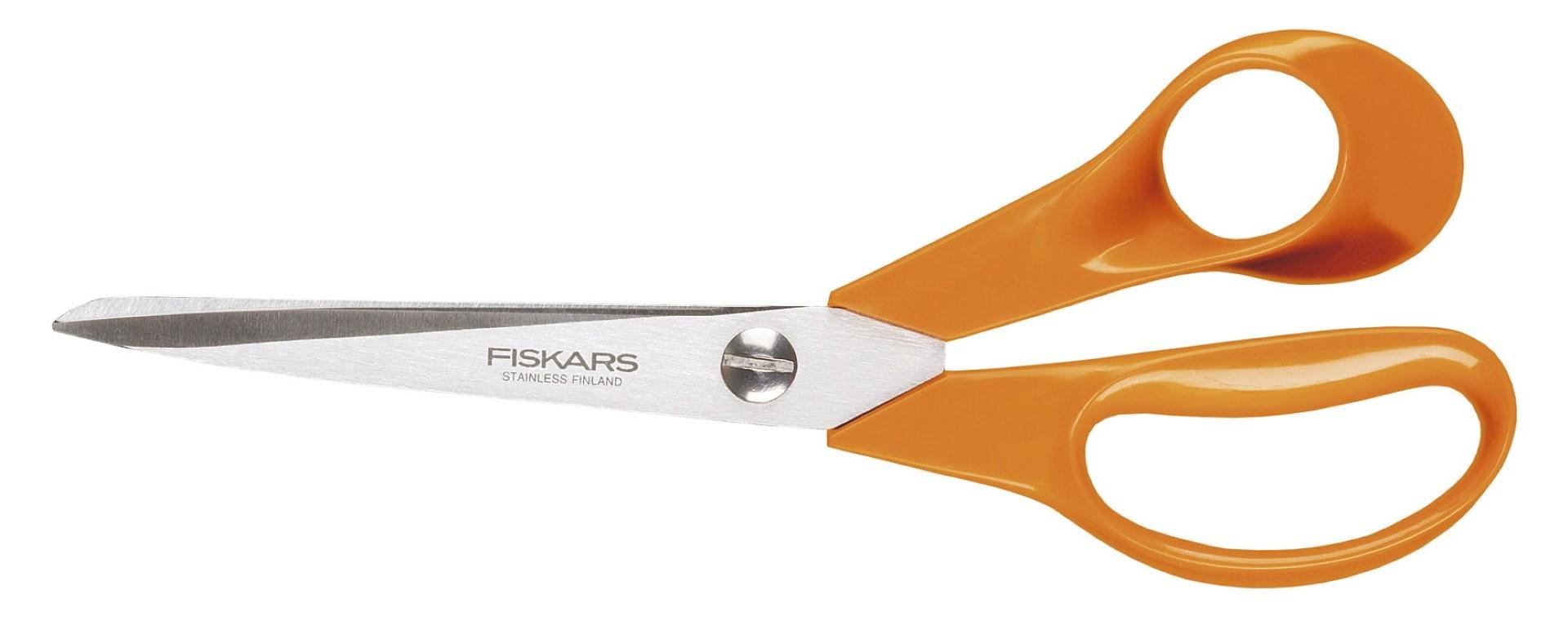Fiskars classic universele schaar S90 oranje 21 cm
