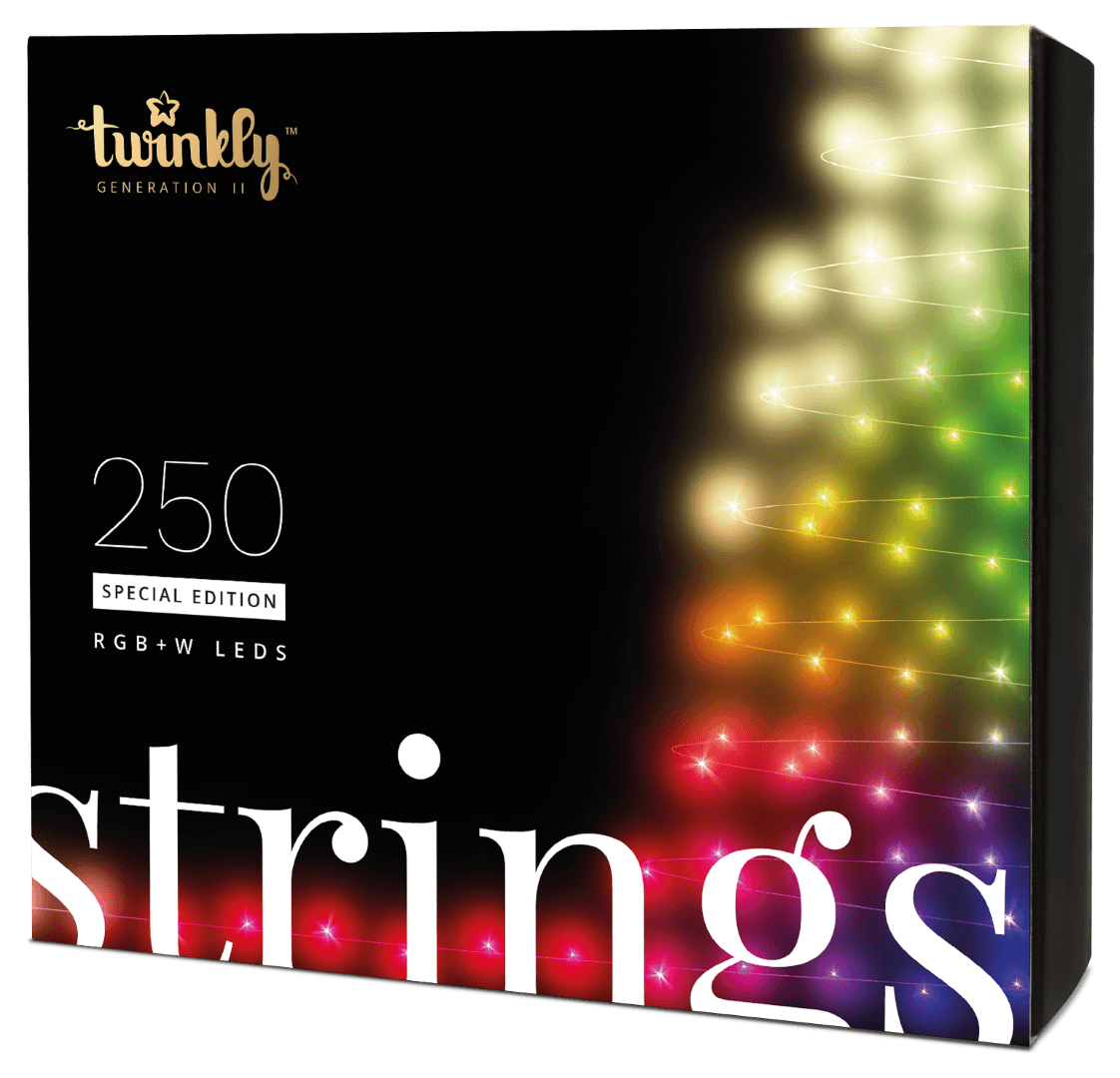 Twinkly Special Edition - 250 RGB W LEDs Lights String - Generation II
