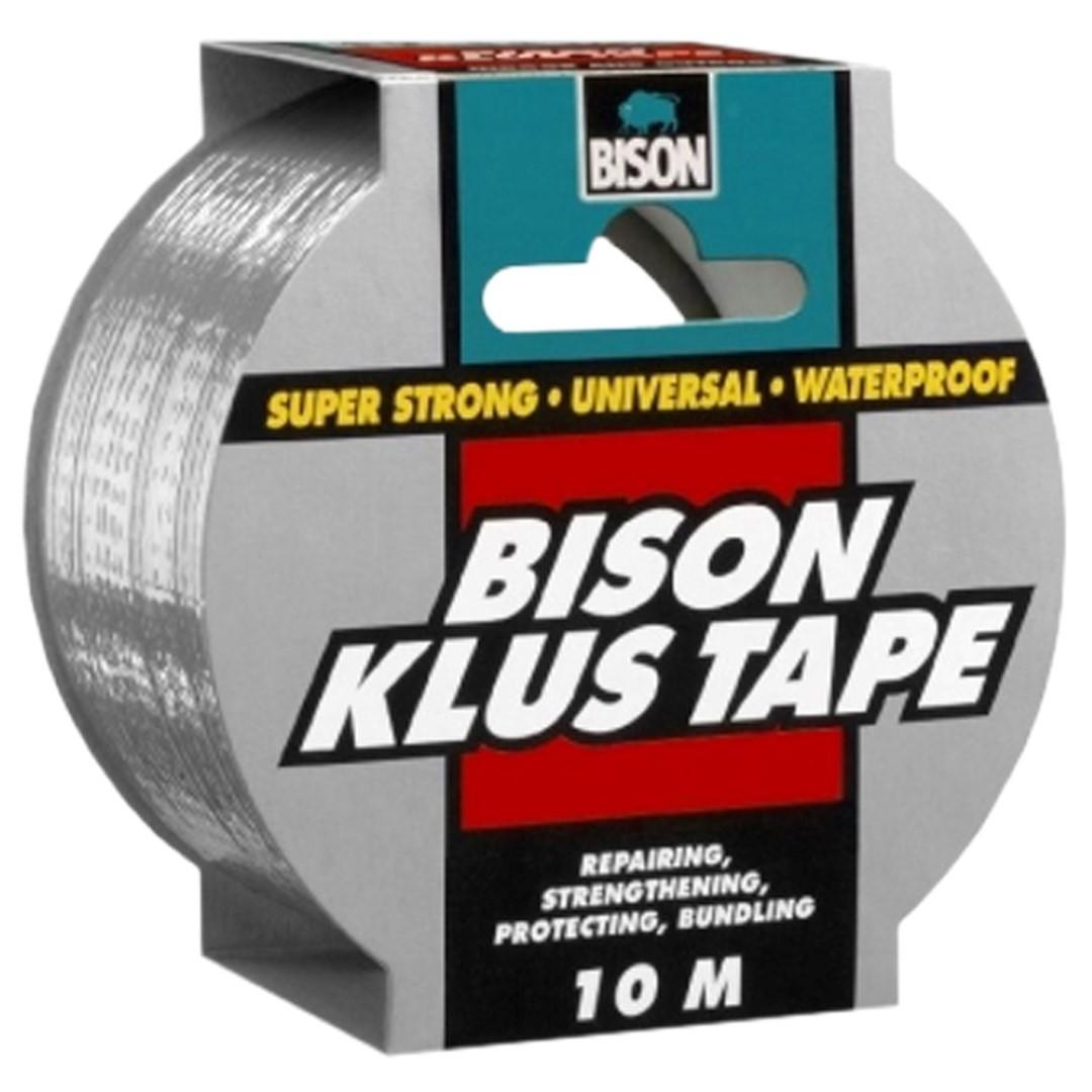 Klus Tape rol 10 x 50 mm grijs