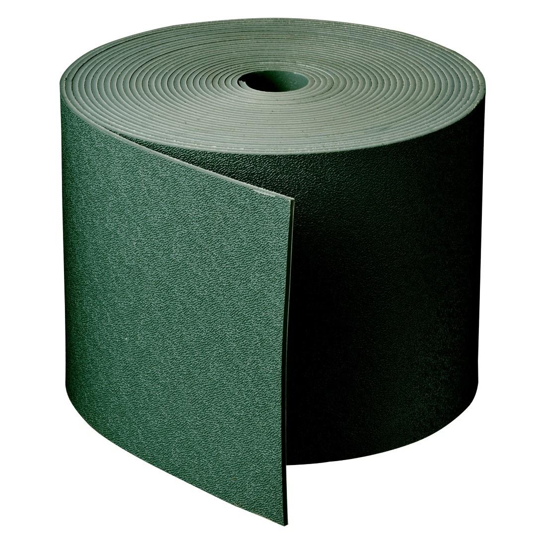 Borderrand groen H15 cm x 10 m dikte 3 mm