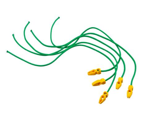 Nature Elastische band met clip
