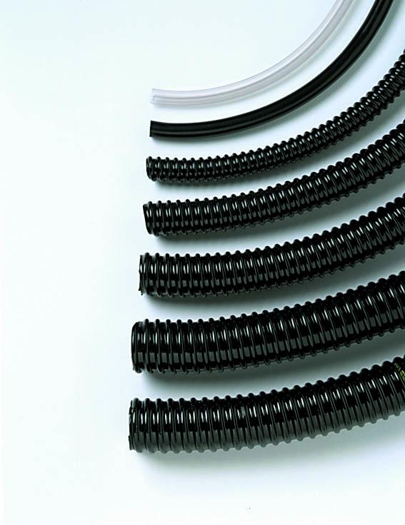 Vijverslang spiraalslang 32 mm zwart prijs per meter Ubbink