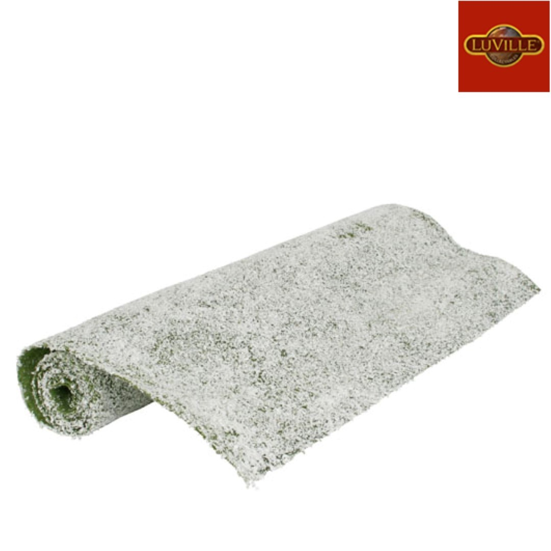 Gras met sneeuw 120x47 cm
