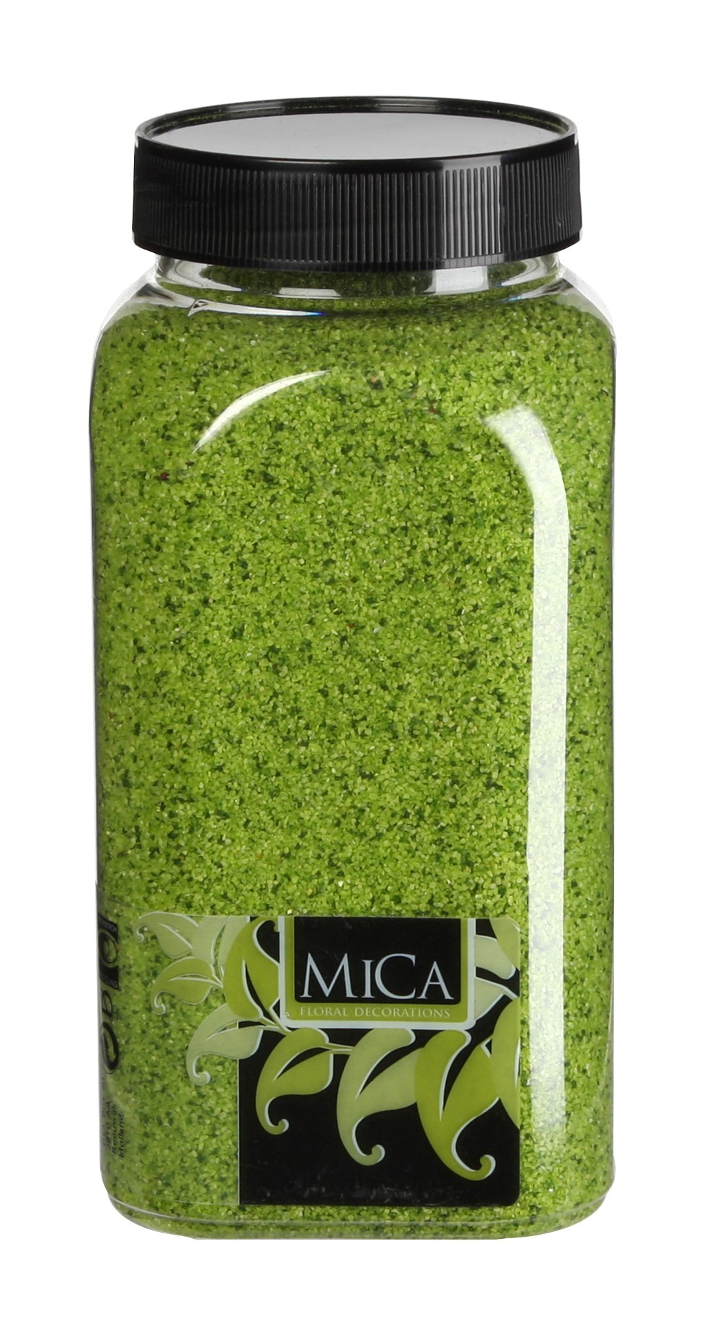 Zand groen fles 1 kilogram