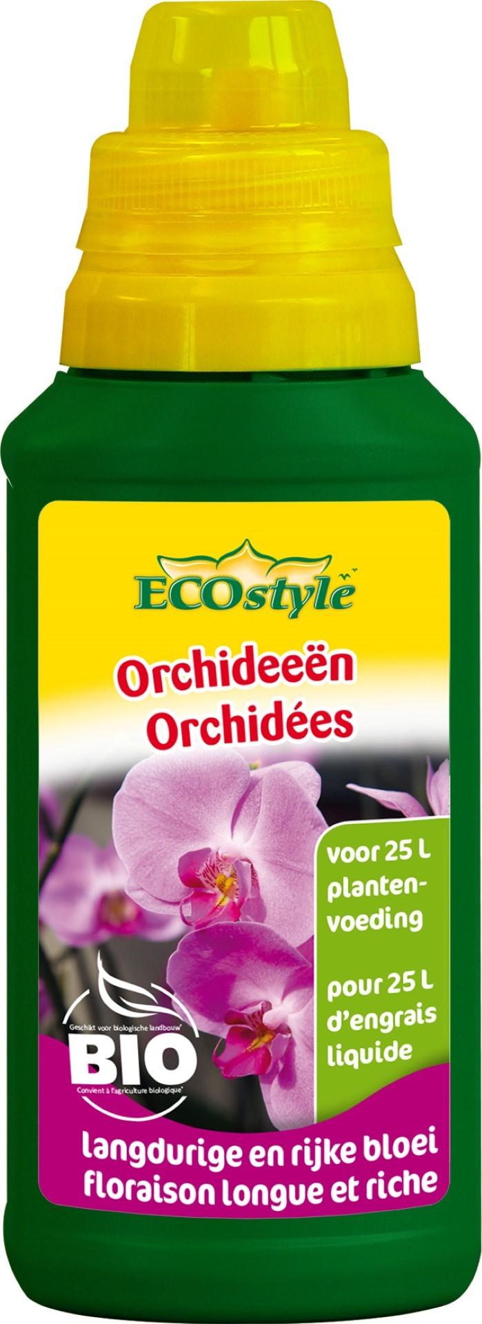 Orchideeen plantenvoeding
