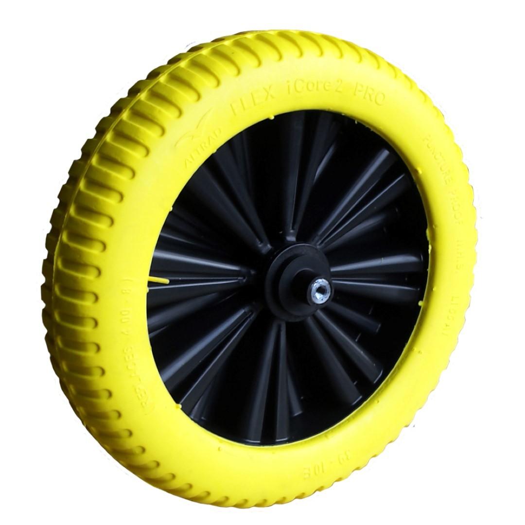 Wiel I-core geel-zwart