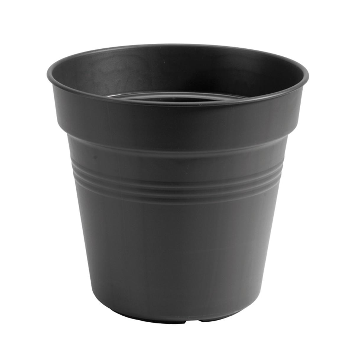 Bloempot Green basics kweekpot 27 cm living black elho