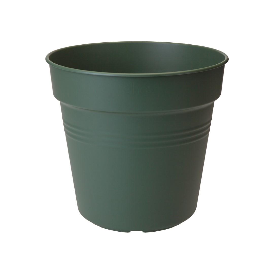 Bloempot Green basics kweekpot 24cm blad groen elho