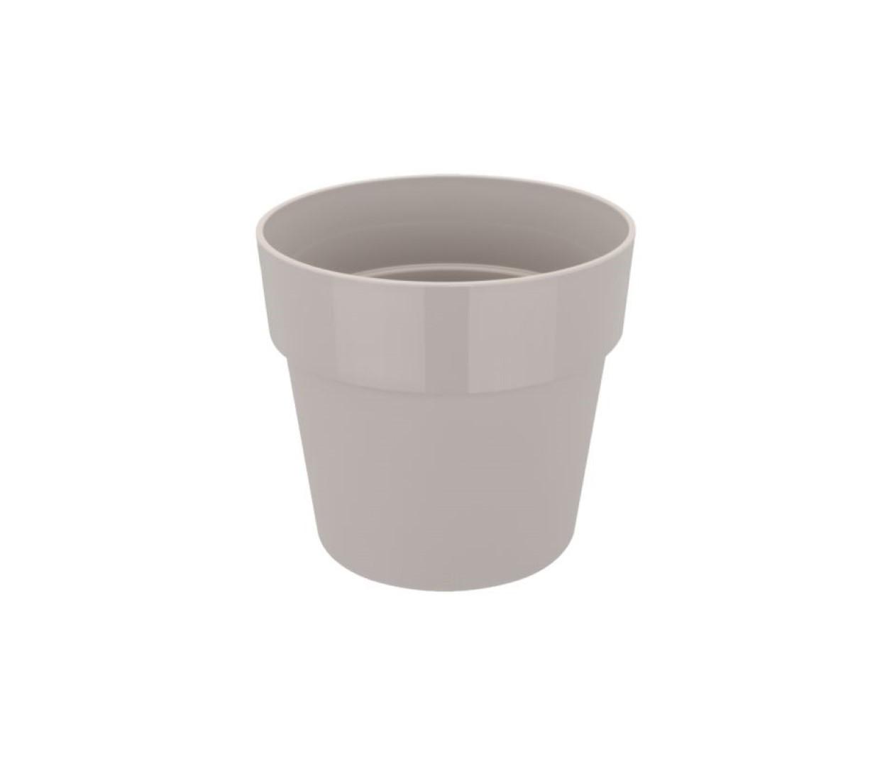 B.for original rond 22 bloempot warm grijs binnen dia. 22 x h 20,3 cm