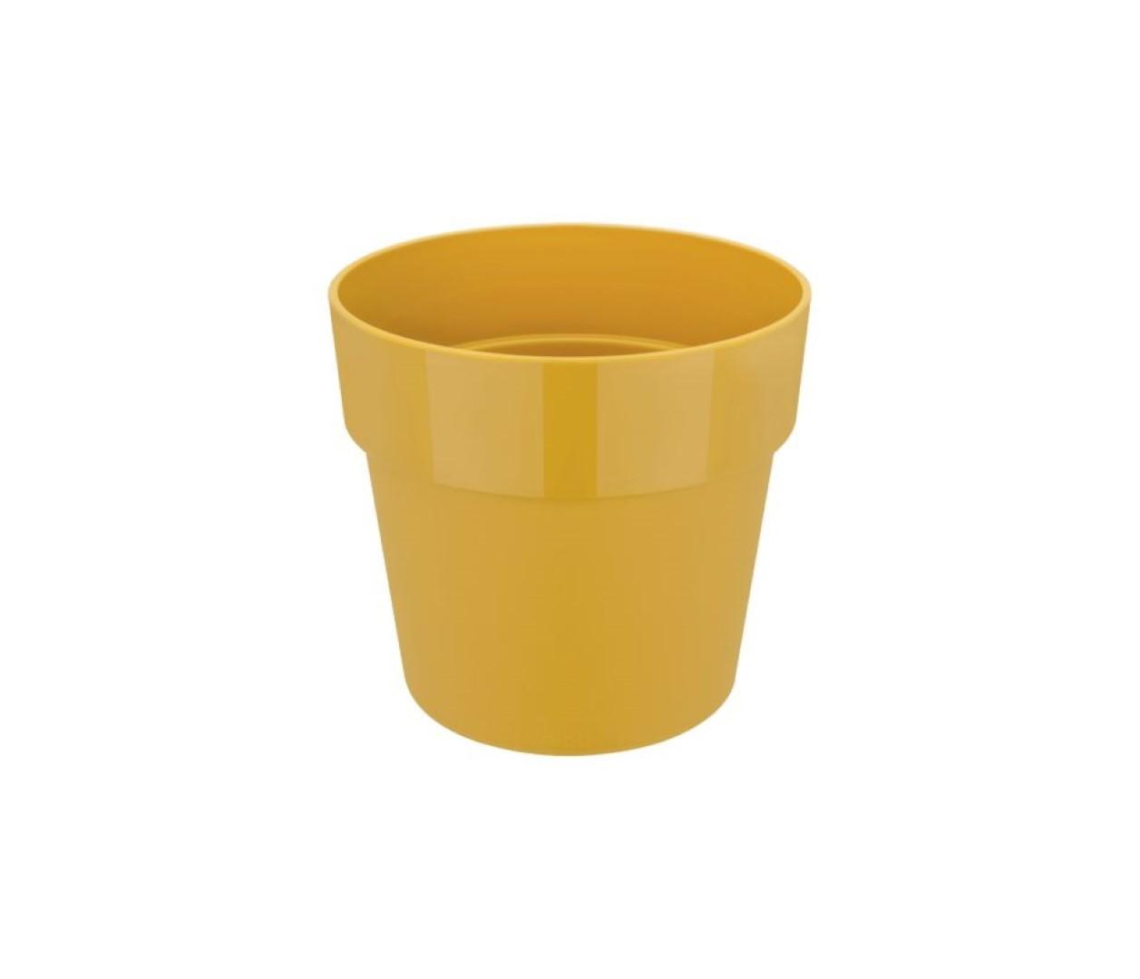 B.for original rond 30 bloempot oker binnen dia. 29,5 x h 27,2 cm