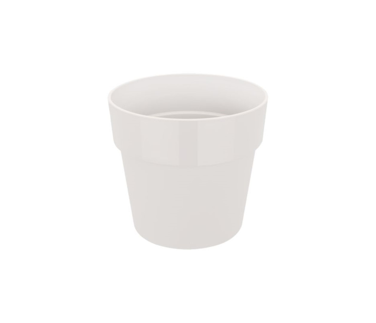 B.for original rond 30 bloempot wit binnen dia. 29,5 x h 27,2 cm