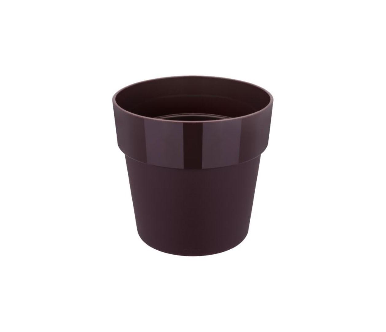 B.for original rond 30 bloempot moerbei paars binnen dia. 29,5 x h 27,2 cm