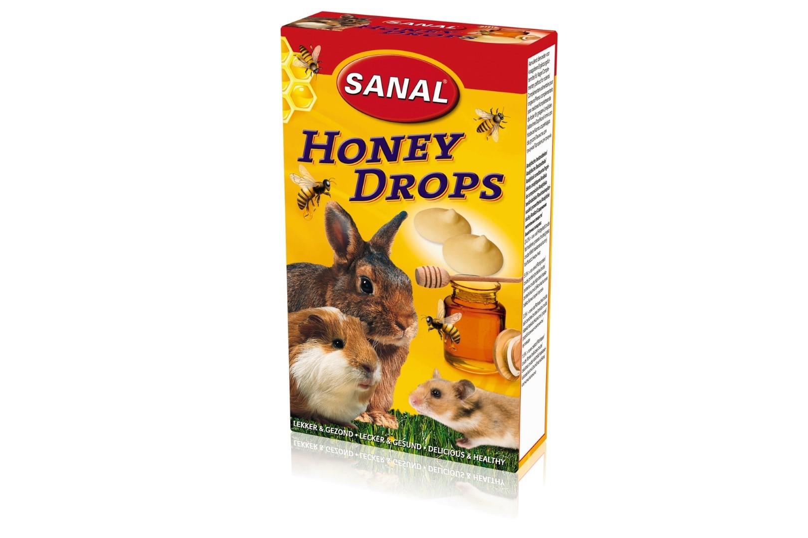honey drops knaagdier 45gr
