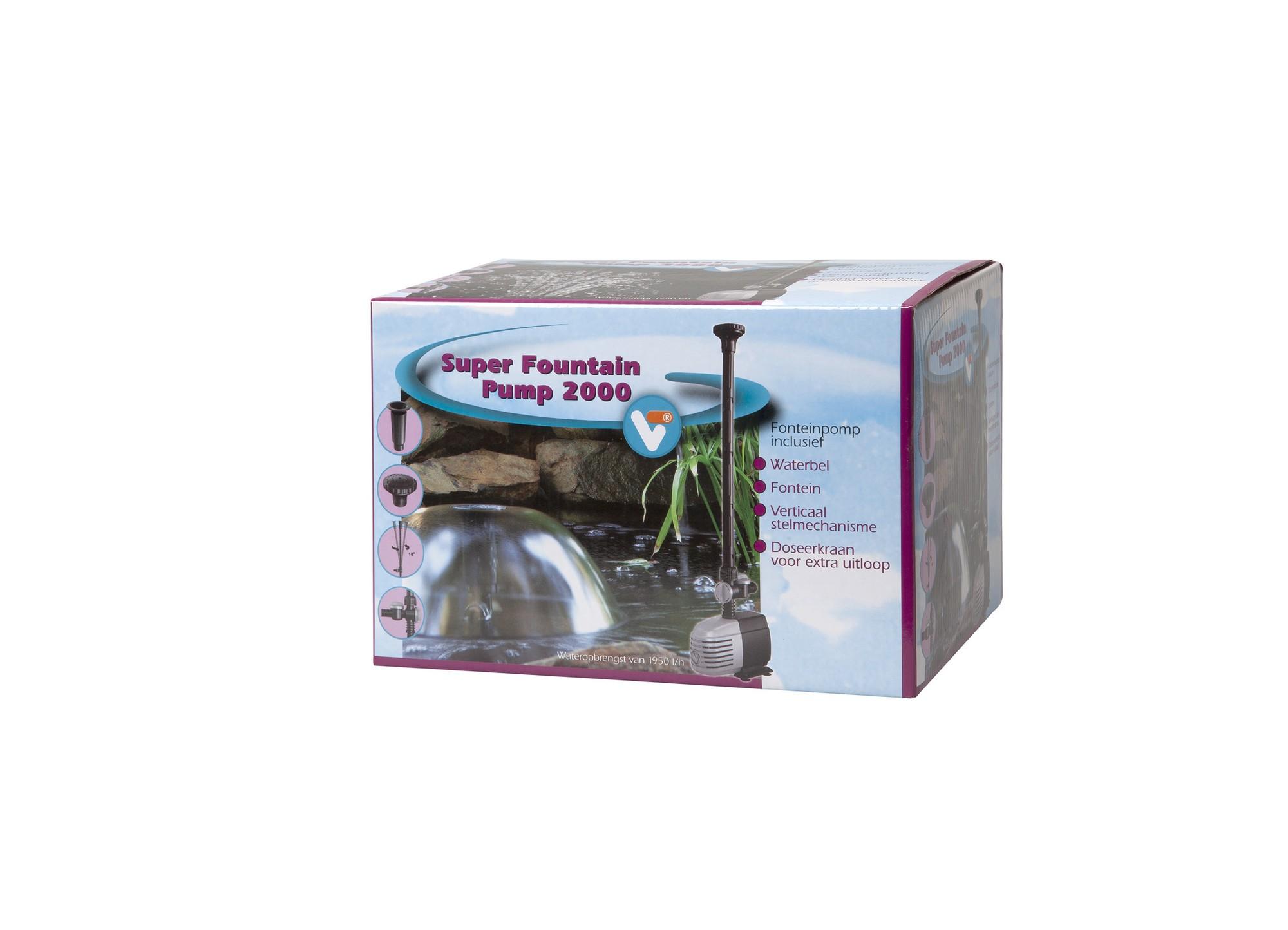 Fountain Pump 2000