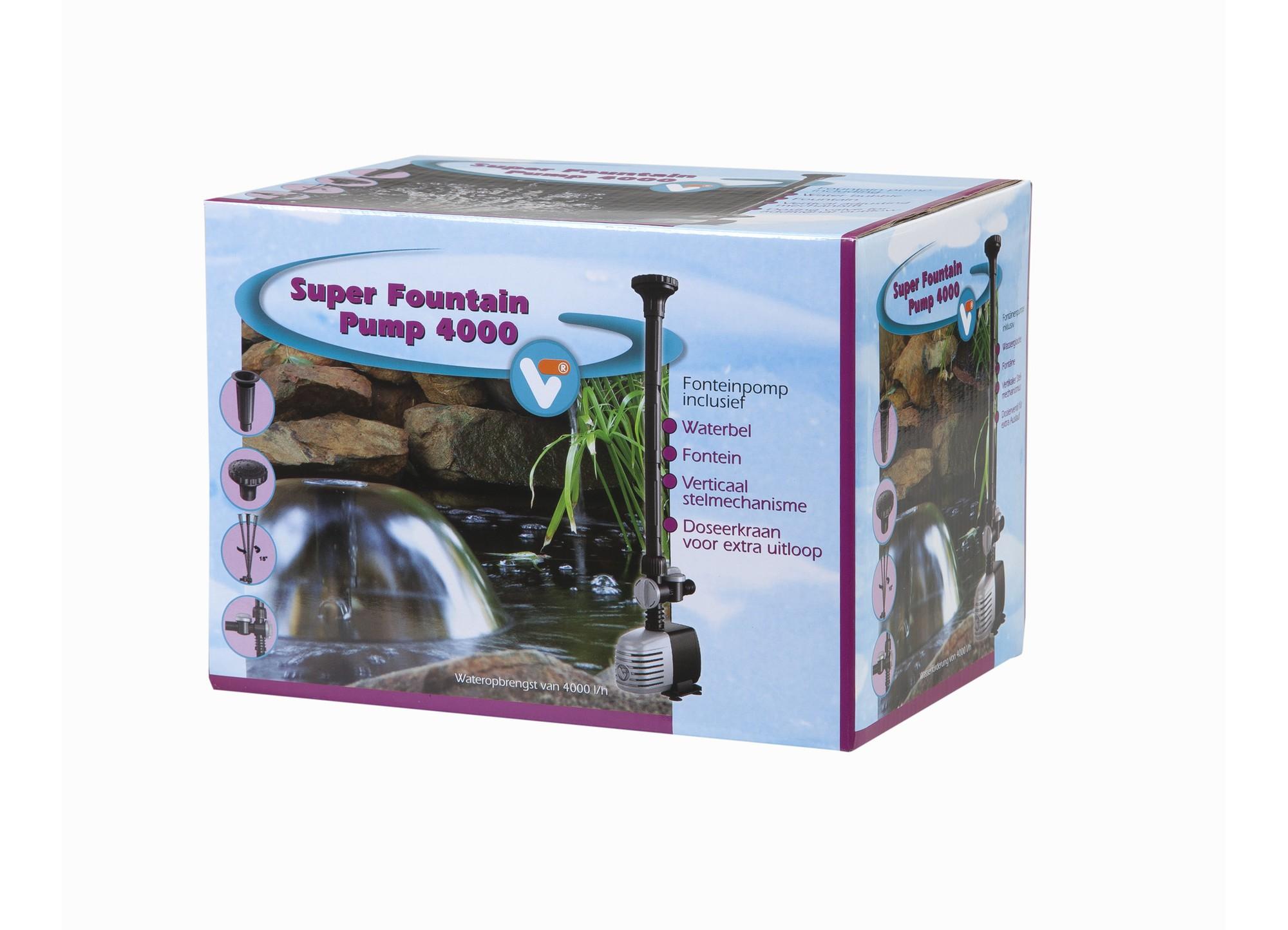 Fountain Pump 4000