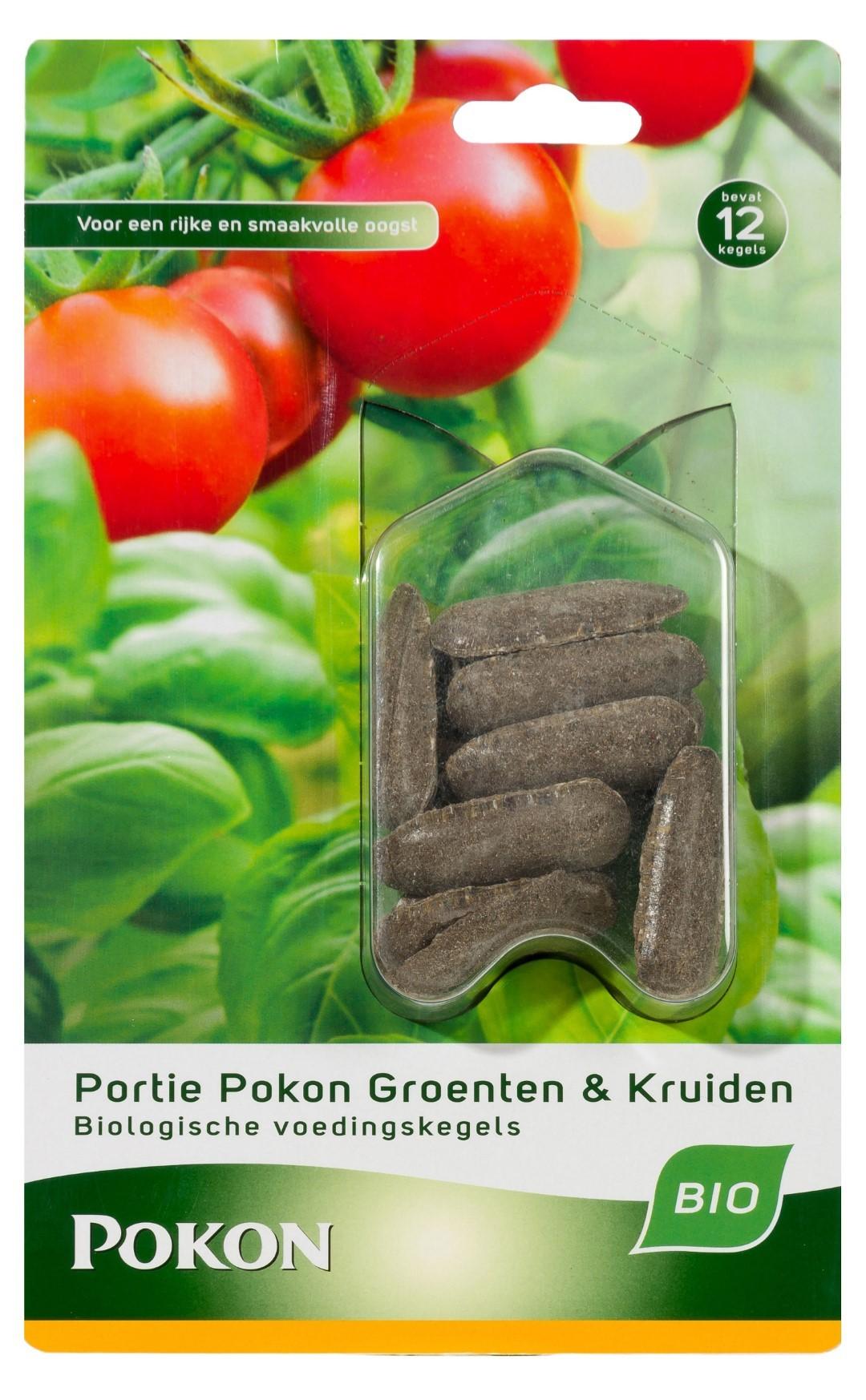 Groenten & Kruiden Voedingkegels 12 st