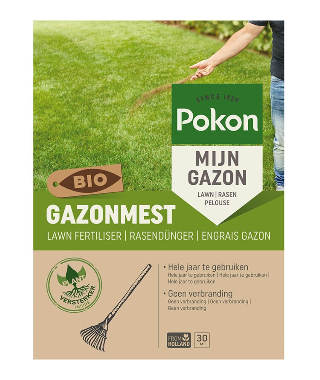 Bio Gazonmest 30m2
