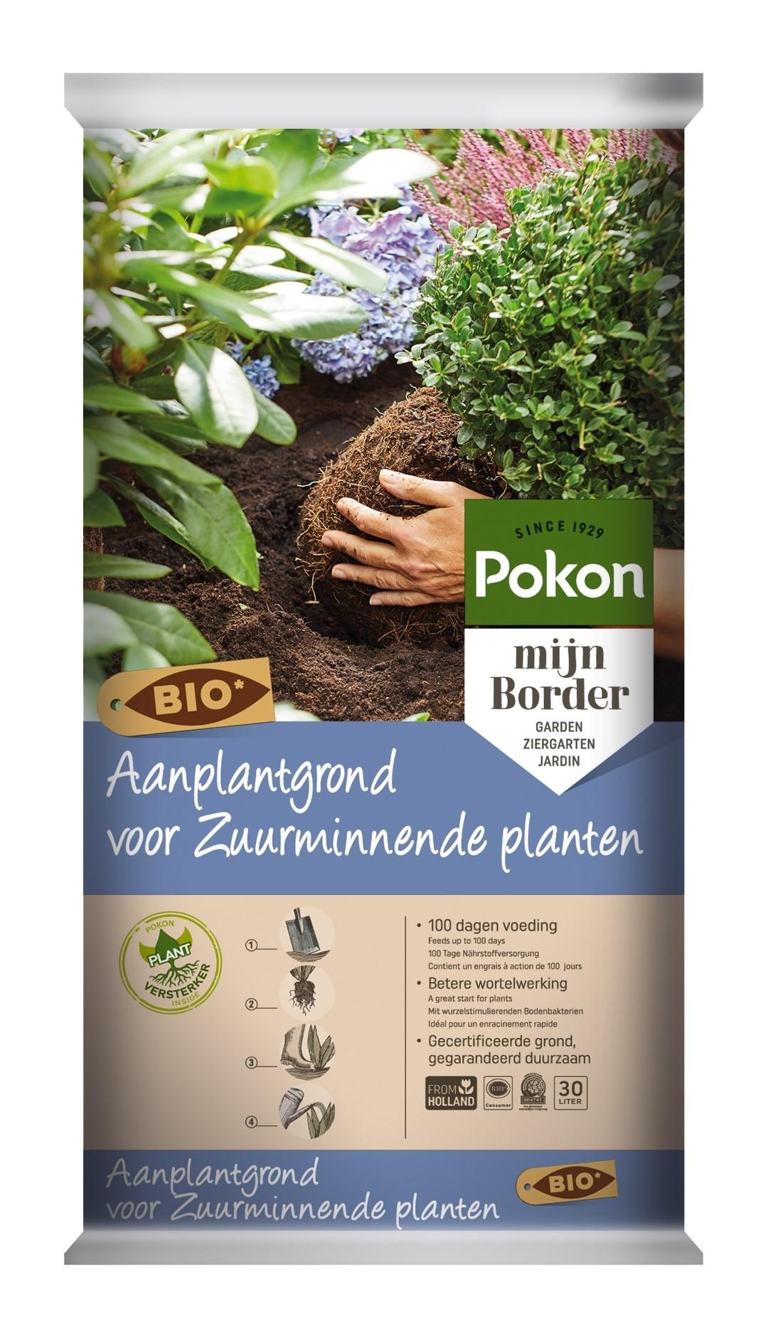 Aanplantgrond Zuurminnende planten Bio 30 liter