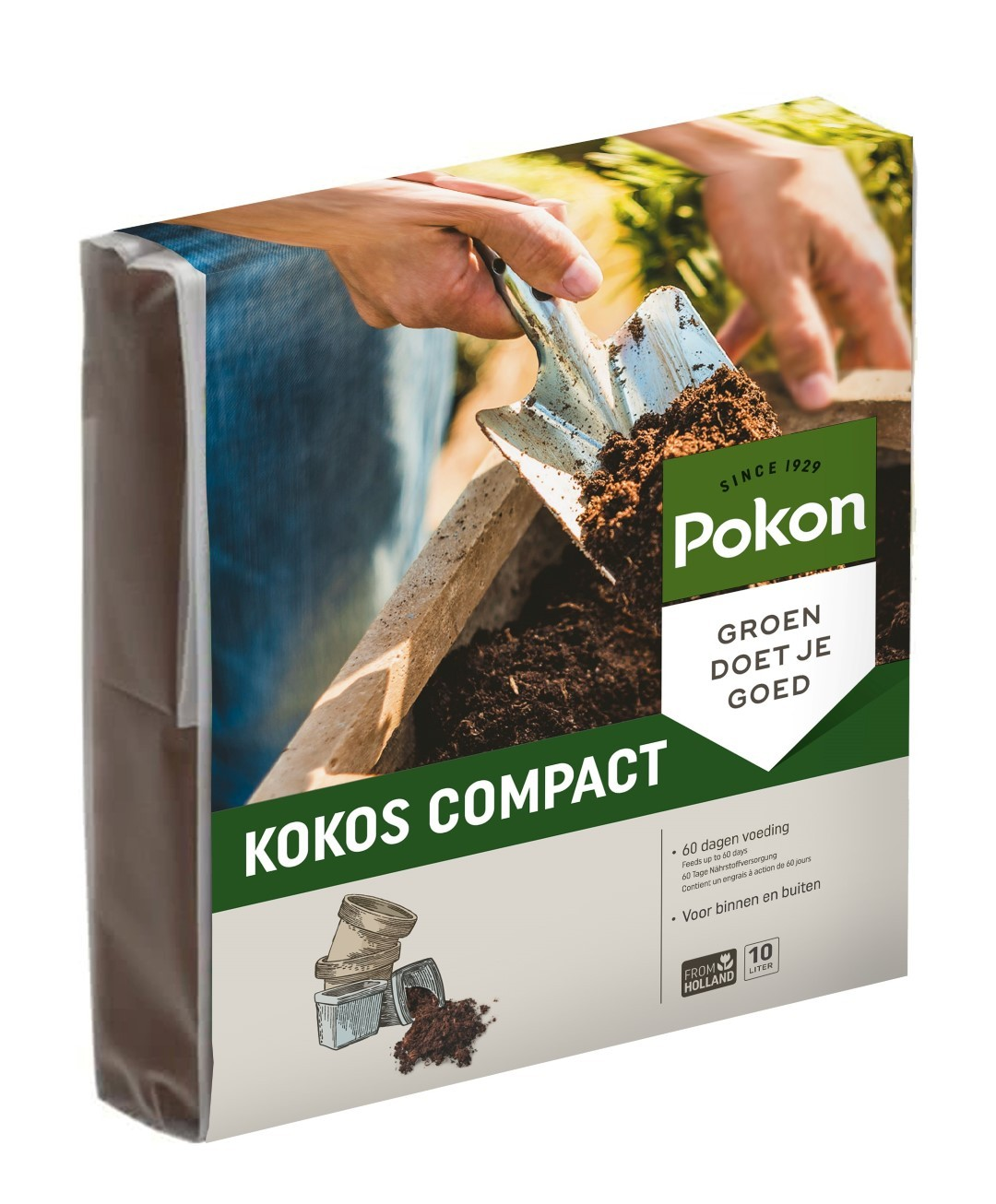 Potgrond Compact 10 liter