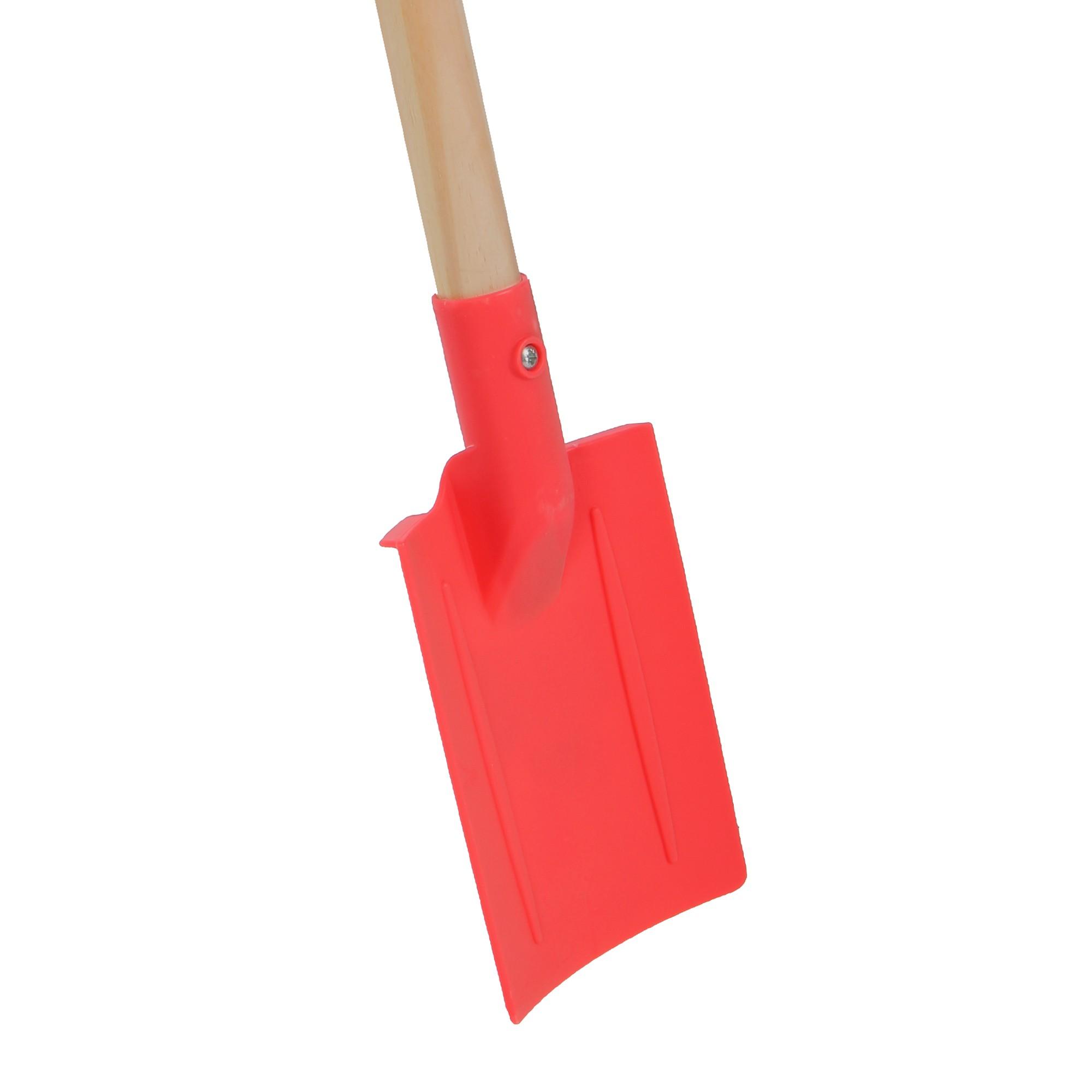 Mini-spade kunststof 75cm steel
