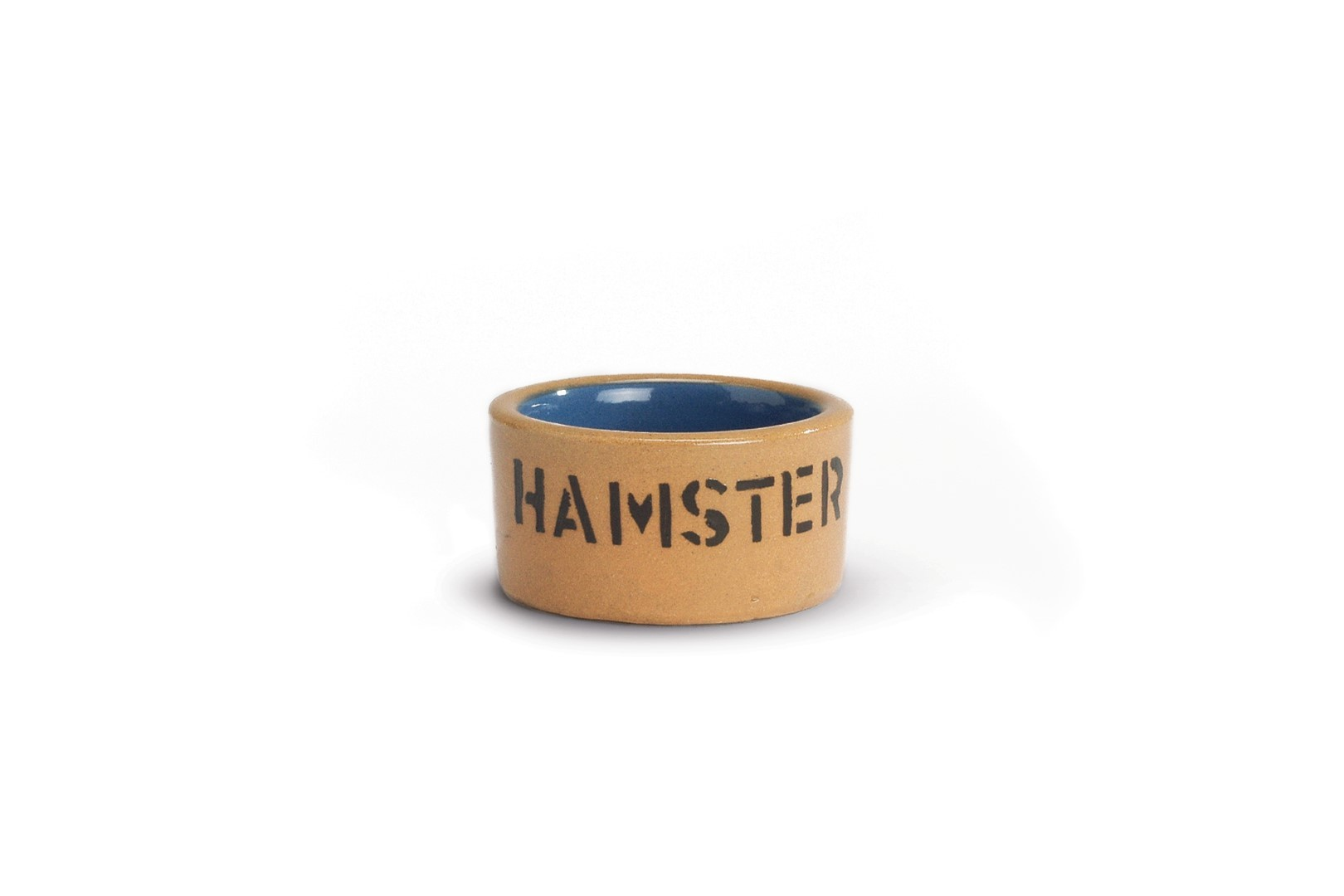 Keramieken hamsterbak hamster blauw/bge