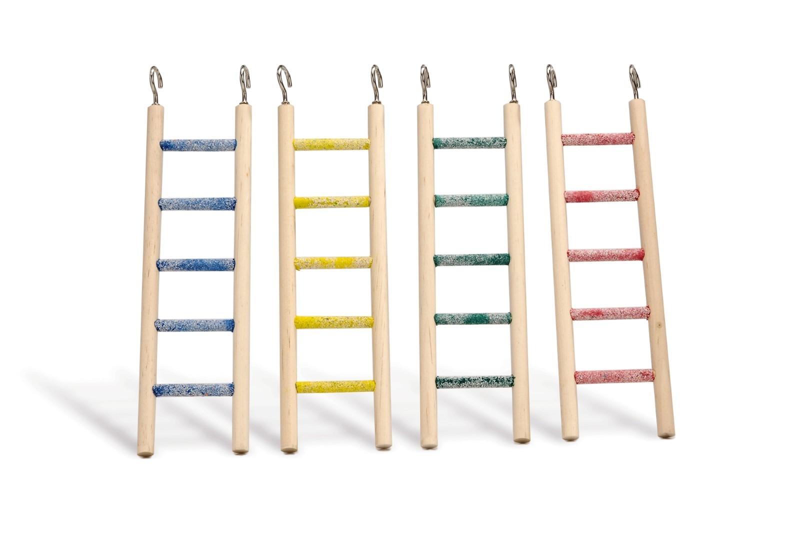 Houten ladder ped 5 tr ass 24x6