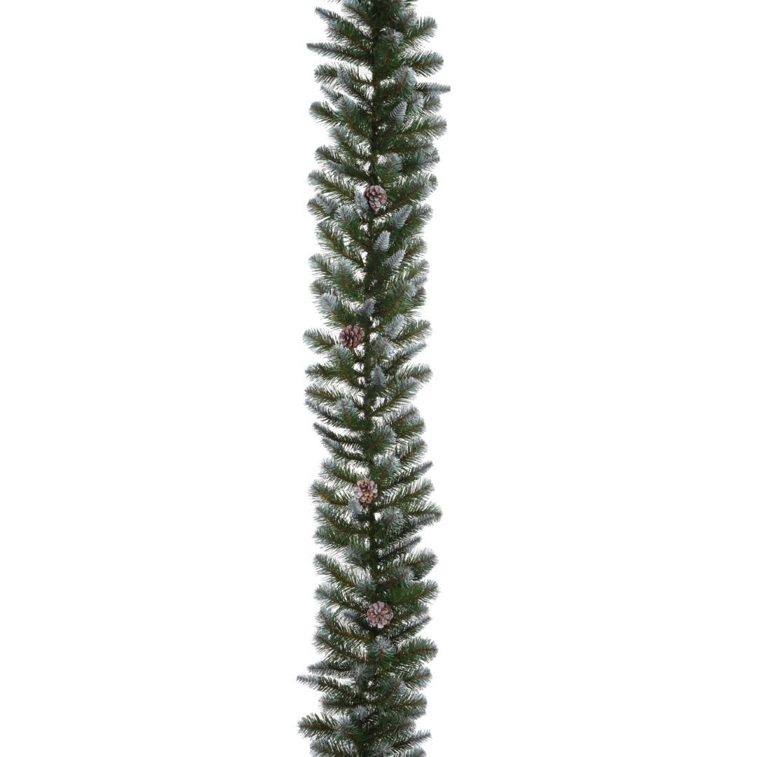 Empress guirlande slinger groen frosted l270 d33 cm Triumph Tree