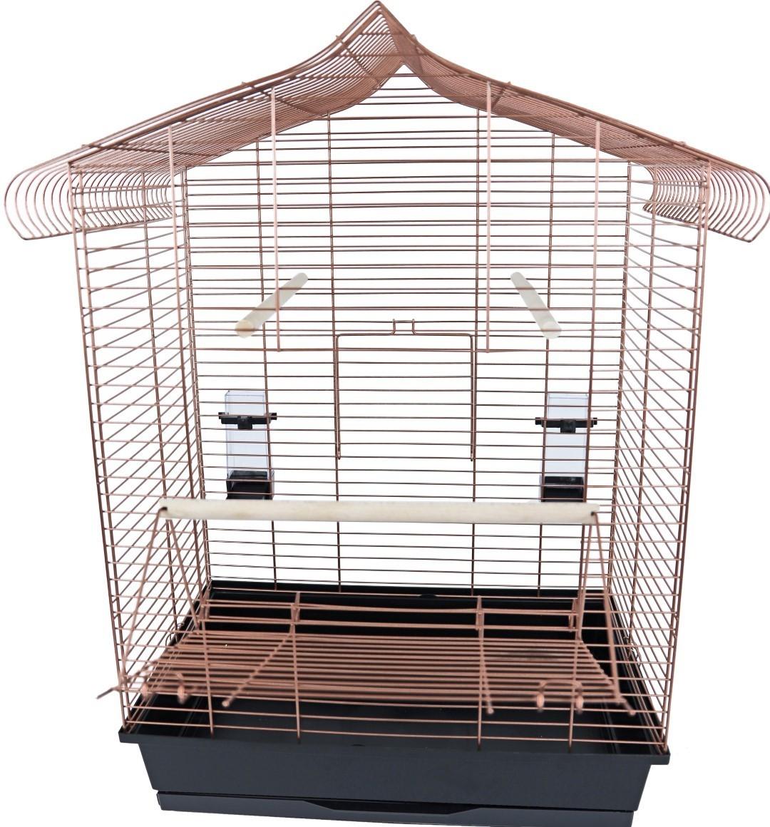 Interzoo vogelkooi Vega koper/zwart