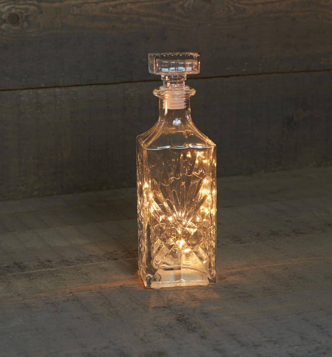 B.o. karaf 18 led timer 6h 8.5x27.5cm Anna's collection
