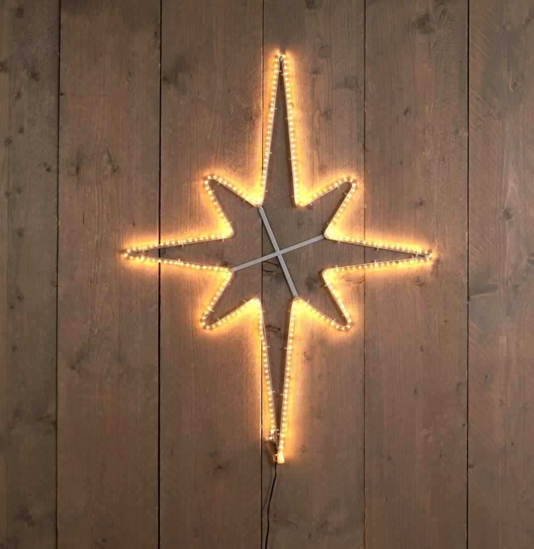 Poolster 60 x 80 cm - 3 meter 270 LED warm wit