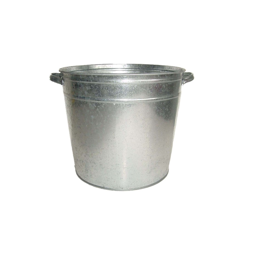 Kuip zink basic h33xd38cm